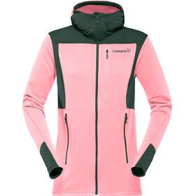 Norrøna Falketind Warm1 Stretch Zip Hoodie Women Geranium Pink